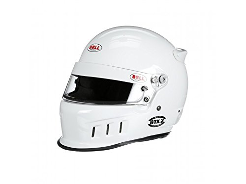 Bell Racing GTX.3 WHITE 7 5/8 (61) SA2015/FIA8859 V.15 BRUS HELMET ()