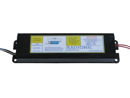 F40t12 Magnetic Ballast - Radionic ES140HTP Magnetic Ballast: Use with (1) F34/40T12