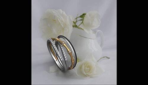 - 14k Two Tone gold Diamond Ring