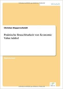 Book Praktische Brauchbarkeit von Economic Value Added