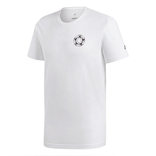 adidas World Cup Mascot History Tee - White - - World Mens Adidas Cup