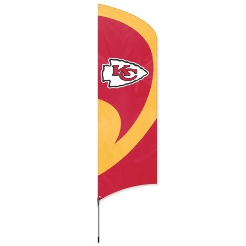 Kansas City Chiefs Official NFL 8' Tailgate Banner Flag by P