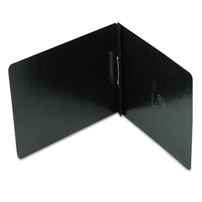 Oxford : PressGuard Coated Report Cover, Prong Clip, Letter, 2'' Capacity, Black -:- Sold as 2 Packs of - 1 - / - Total of 2 Each