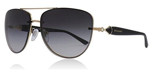 Bvlgari BV6086B 20148G Pink Gold BV6086B Pilot Sunglasses Lens Category 3 Size