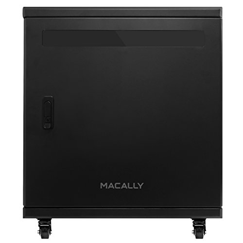 Macally 15 Bay Sync Charge Cabinet for Tablets and Notebooks with Lock for Schools and Businesses (DOCK15) by Unknown