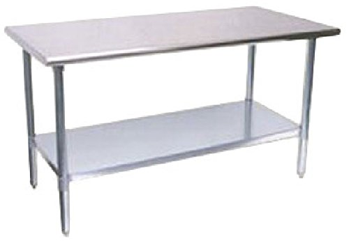 Turbo Air Work Tables 24'' W x 96'' L TSW-2496E