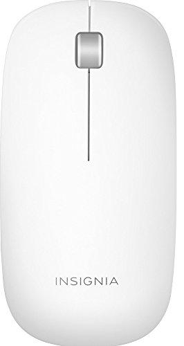 Insignia - Ultra Slim Bluetooth Mouse - Gray/White