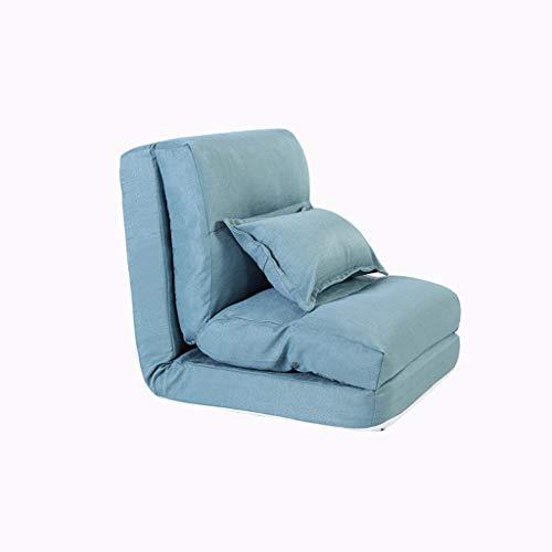 WKHQQ-sofá Sofá Perezoso, sillón Plegable y Multifuncional ...