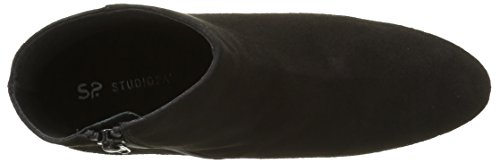 Støvler Kvinde Halv Sort Dove Noir Studie 19102 Klassisk til 1q47xw