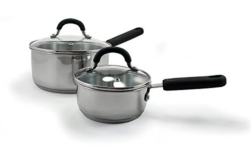 Oneida 10pc Stainless Steel Induction Cookware Set