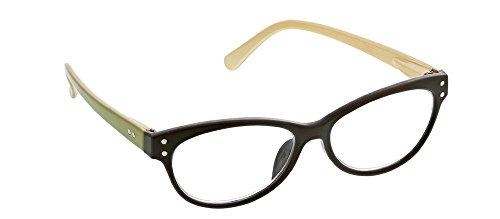 *Peepers Poise - Dark Olive Reading Glasses (723) (2.25)
