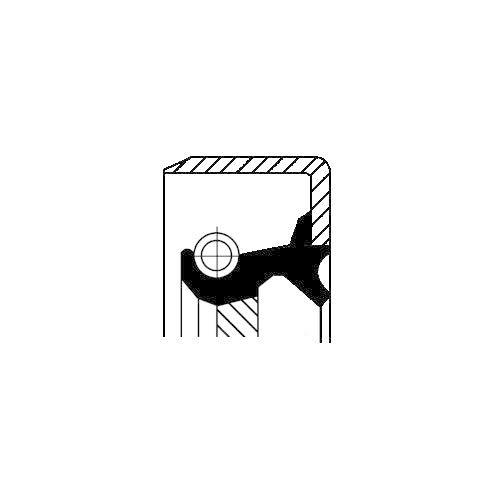 Corteco 12011295B Paraolio Cambio Manuale
