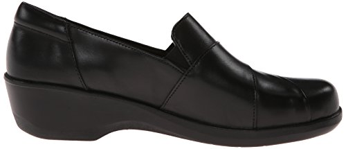 Clarks Esha Marigold plana Black Leather