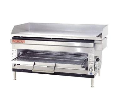Grindmaster Cecilware Griddle/Broiler, Cheesemelter, Liquid Propane, Countertop, 1