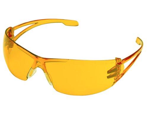Gateway Safety 2777 Varsity Wraparound Eye Safety Glasses, Orange Lens, Orange Temple
