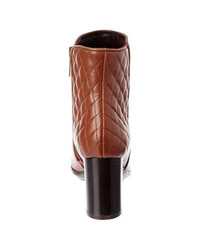 Aquatalia Dorothy Waterproof Leather Bootie, 8, Brown