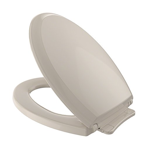 Home Depot Toilet Seat - TOTO SS224#03 Guinevere SoftClose Elongated Toilet Seat, Bone
