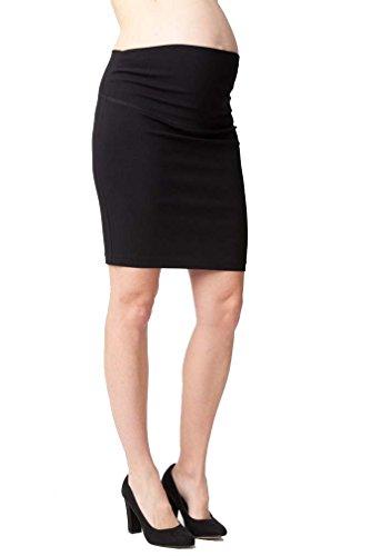 Ripe Suzie Maternity Career Mini Skirt - Black - X-Large