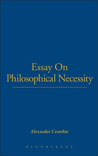 Read Online Essay On Philosophical Necessity pdf