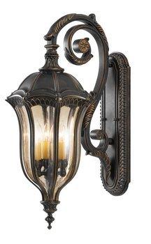 Feiss OL6004WAL 4-Bulb Outdoor Wall Lantern, Walnut (Astoria Outdoor Wall)