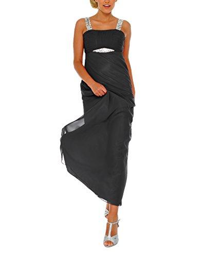 Negro Vestido Schwarz Astrapahl para Mujer wpgxYWqFS
