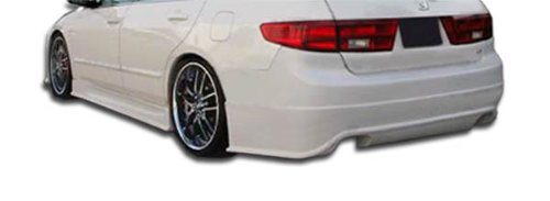 Sigma Rear Bumper Cover - 1 Piece Body Kit - Fits Honda Accord ()