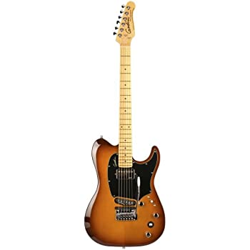 godin guitars 038121 electric session custom tripleplay guitar lightburst high. Black Bedroom Furniture Sets. Home Design Ideas