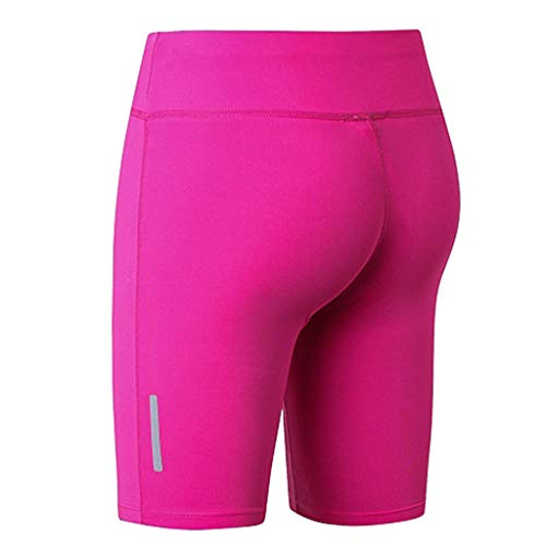 Women's Fitness Yoga Pants - Reflective Strip Night Running Training Five-Minute,2019 New by SUNSEE WOMEN'S CLOTHES PROMOTION (Image #3)