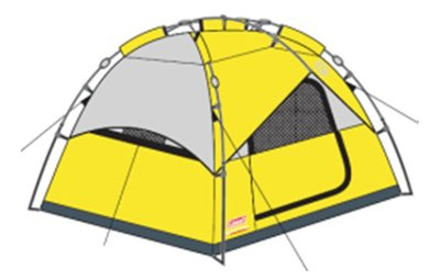 Coleman Instant Dome Tent