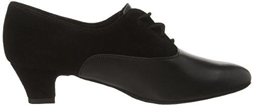 Diamant Diamant Damen Trainerschuhe 060-047-070 - Zapatos de baile Mujer Negro (schwarz)