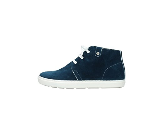 Denim Comfort Suede up Lace 40820 Columbia Shoes Wolky 4pTqq