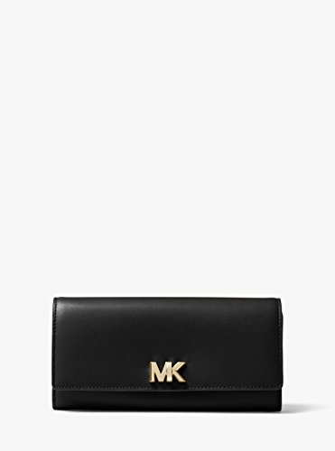 Michael Kors Mott Large Clutch Wallet in Black by Michael Kors