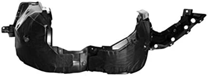 Fitrite AutoParts New Front Right Passenger Side Fender Liner For 2016-2018 Nissan Altima Made Of Pp Plastic Injection Molded NI1249150