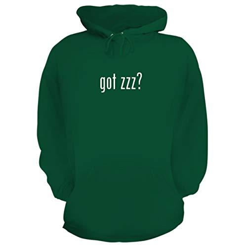 BH Cool Designs got zzz? - Graphic Hoodie Sweatshirt, Green, Medium