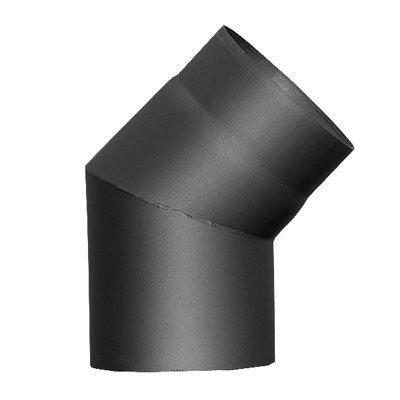 ARCO DE TUBO DE HUMOS / Tubo De Estufa / ángulo 30°Ø 150mm SIN