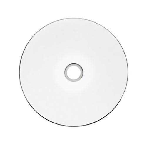 JVC Taiyo Yuden White Inkjet Hub Printable 52X CD-R Media 600 Pack in Plastic Wrap by JVC