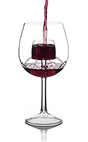 Sommelier Aerating Wine Glasses by Chevalier Collection (Set of 2) - Wine Aerator