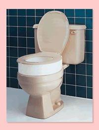Amazon.com : Carex Elevated Toilet Seat - 3.5\
