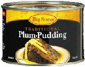 Australian Big Sister Traditional Plum Pudding 350g