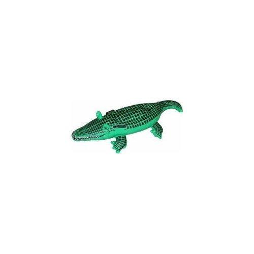 Henbrandt 2 x 150 cm cocodrilo Inflable: Amazon.es: Juguetes ...