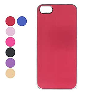 DD Elegant Solid Color Protective Hard Case for iPhone 5/5S (Assorted Colors) , Purple