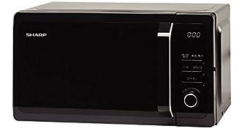 Sharp r-652bk Horno a microondas con grill Capacidad 20 Litros Potencia 1800 W)