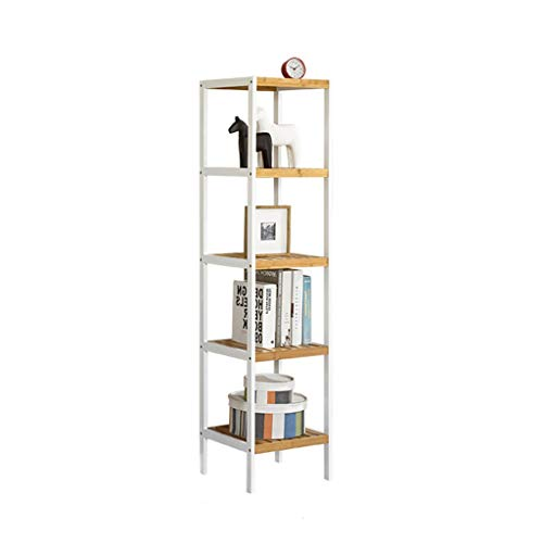 077adb29e5c9 2, 3,4,5 Tier Bamboo Bathroom Shelf Kitchen Storage Unit Rack Bathroom  Organiser,Free-Standing Shelving Unit Storage Shelves (Color : B, Size : 5  ...