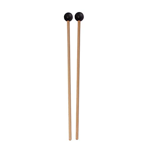 SUPVOX One Pair Xylophone Bells Mallets/Sticks with Wood Handle for Boys and Girls ()