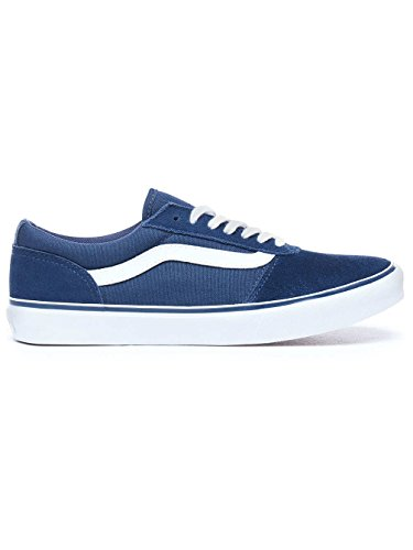 Sneakers Womens Niedrige Wildleder aus Maddie Vans R71 Wildleder Canvas Nero Marineblau Canvas Blue w4xgqtRC