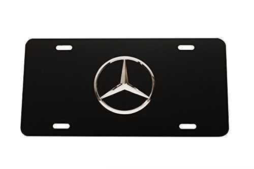 mercedes benz frame license plate - 8