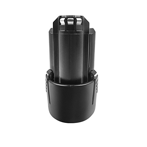 Turpow 12V 2.0Ah No Memory Effect Li-ion Replacement Battery for BAT411 BAT411A BAT412 BAT412A BAT413 BAT413A BAT414 D-70745 2607336013 26073360 Power Tool Battery