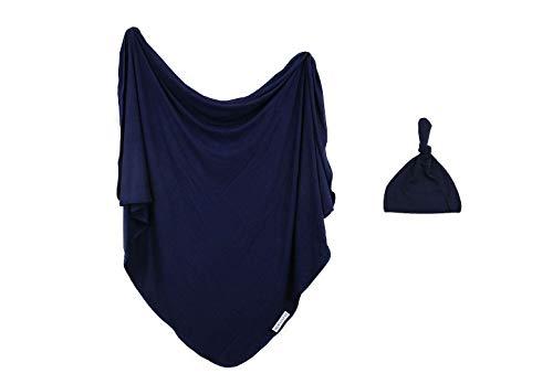 ELIVIA & CO. Swaddle Blanket & Hat Set | Receiving Blanket | Soft & Cozy | 47