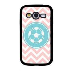 Love Soccer Baby Pink Zig Zag Circle Hipster Samsung Galaxy Grand Duos I9080 I9082 Case - Fits Samsung Galaxy Grand Duos I9080 I9082