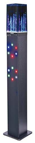 Sylvania SP349 Light & Water Display Bluetooth Tower Speaker